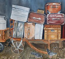 Lost Luggage By Nicole Barros by TwoBaysArtGroup