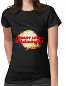 Threat Level Midnight Womens Fitted T-Shirt