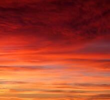 Red Sky In The Morning by fernblacker