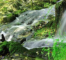 Flowing water by liberthine01