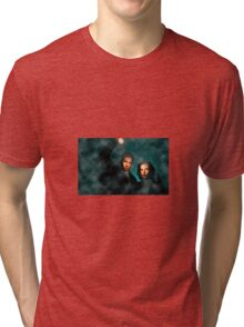 Scully and Mulder - The X Files Tri-blend T-Shirt