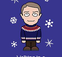Sherlock Christmas card: Watson Wonderland by redscharlach