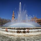 Plaza de Espana - Sevilla Spain by mattnnat