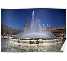 Plaza de Espana - Sevilla Spain Poster