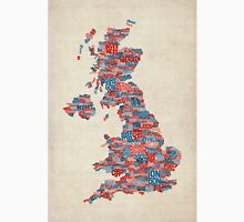 Great Britain UK City Text Map Unisex T-Shirt