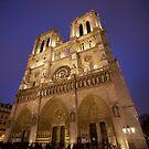 Notre Dame - Paris France by mattnnat