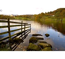 Loughrigg Tarn and The Langdales Photographic Print