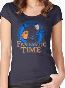 Fantastic Time Women's Fitted Scoop T-Shirt
