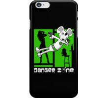 Danger Zone - green iPhone Case/Skin
