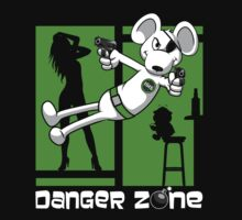 Danger Zone - green Kids Clothes