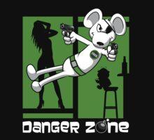 Danger Zone - green One Piece - Short Sleeve