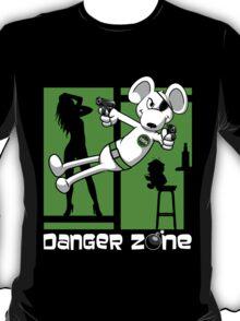 Danger Zone - green T-Shirt
