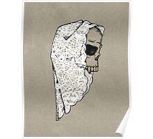 All Hallows Skull Poster