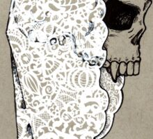 All Hallows Skull Sticker
