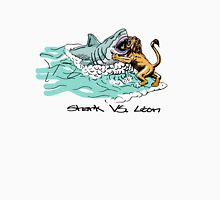 Shark Vs. Lion Unisex T-Shirt