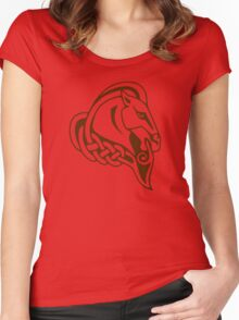 Whiterun Alternate Color Women's Fitted Scoop T-Shirt