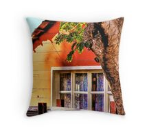 Summer Home by Grimalkin Studio Throw Pillow