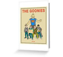 The Goonies - Beige Greeting Card