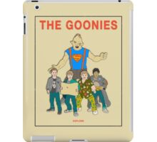 The Goonies - Beige iPad Case/Skin