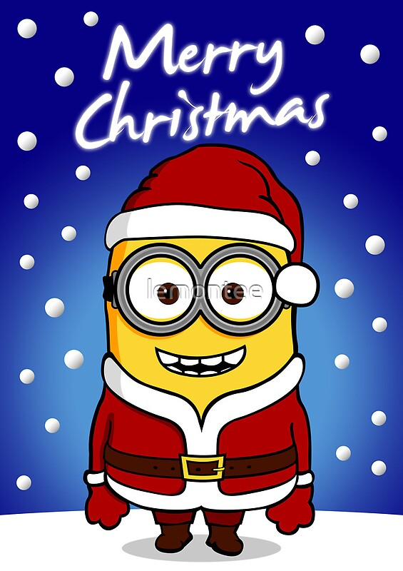 Displaying (18) Gallery Images For Minion Santa Claus Drawing...
