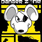 Danger Zone - yellow by SwanStarDesigns