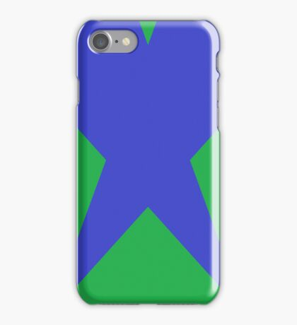 Green Blue Crossover iPhone Case/Skin