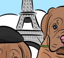 Dogue de Bordeaux Pups in Love Sticker