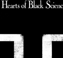 Hearts of Black Science Blocks Logo Sticker