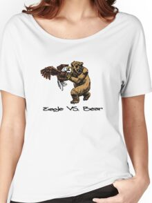 Eagle Vs. Bear Women's Relaxed Fit T-Shirt