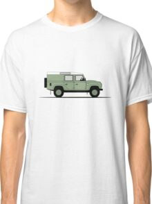 Land Rover Defender 110 Utility Station Wagon Heritage Edition Classic T-Shirt