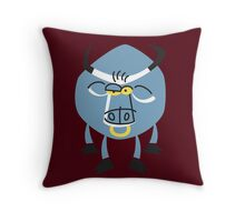Cool Bull Is Cool!!! Throw Pillow