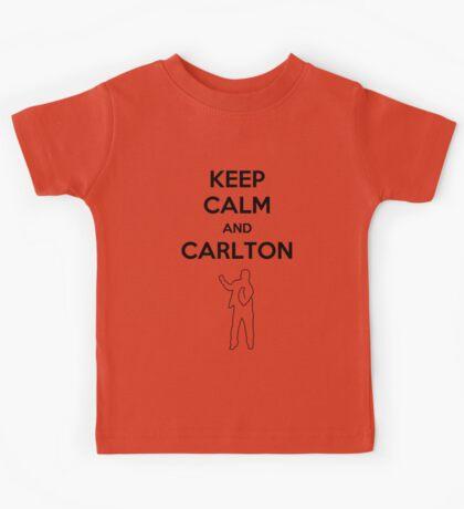 Keep Calm and Carlton Kids Tee