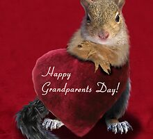 Grandparents Day Squirrel by jkartlife