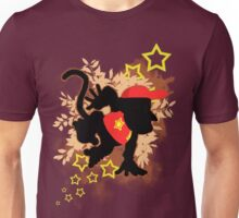 Super Smash Bros. Diddy Silhouette Unisex T-Shirt