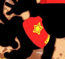 Super Smash Bros. Diddy Silhouette Sticker