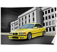 1998 BMW M3 Sports Coupe Poster