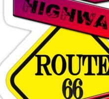 Traffic signal Route 66 america higway  Sticker