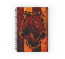 Gryffindor Fan Banner Spiral Notebook
