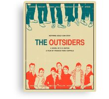 The Outsiders - Beige Canvas Print
