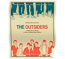The Outsiders - Beige Poster