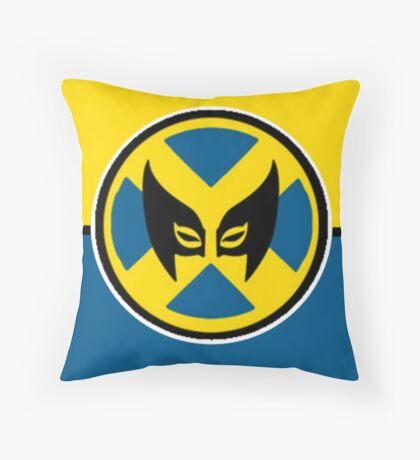 Wolverine Symbol Throw Pillow