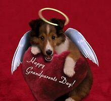 Grandparents Day Angel Sheltie by jkartlife