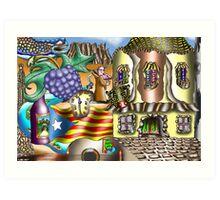 Catalonia Art Print