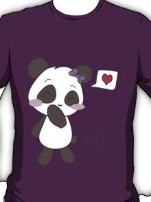 """His & Hers"" Panda (Couple Shirts) Girl Version T-Shirt"