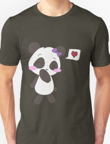 """His & Hers"" Panda (Couple Shirts) Girl Version T-Shirt"