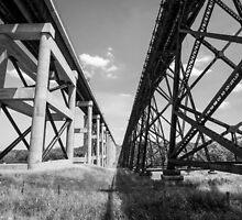 Kate Shelley High Bridge - Boone, IA by Dustin Ahrens