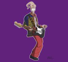 Earthworm Jimi Hendrix by Eddie Mauldin