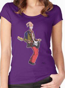 Earthworm Jimi Hendrix Women's Fitted Scoop T-Shirt