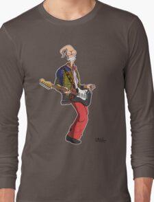 Earthworm Jimi Hendrix Long Sleeve T-Shirt
