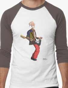 Earthworm Jimi Hendrix Men's Baseball ¾ T-Shirt
